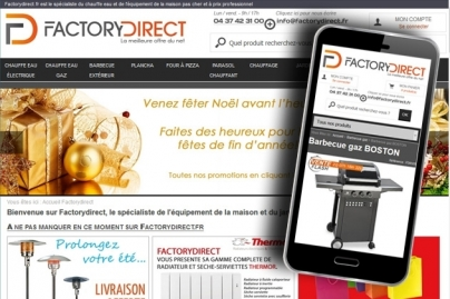 FactoryDirect se met au responsive