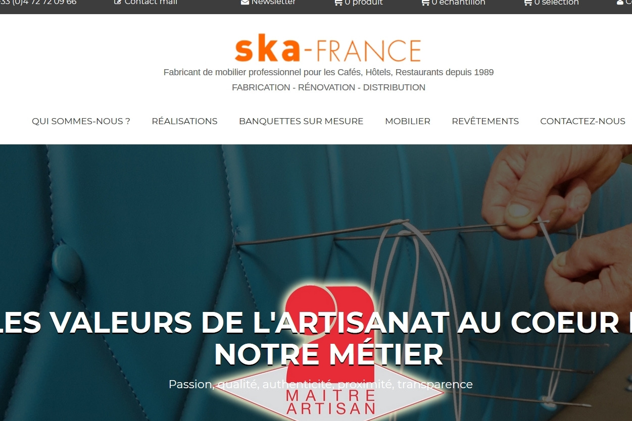 SKA France modernise son interface